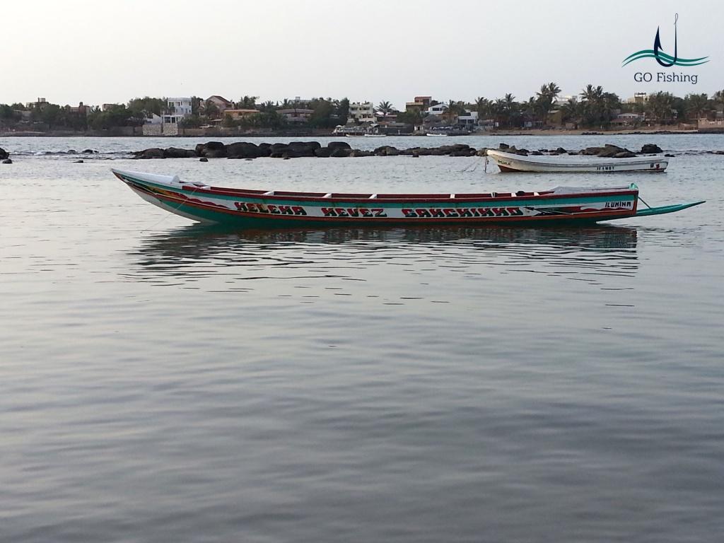 Bateau typique du NGor, Dakar