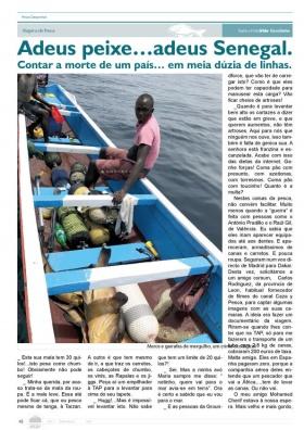 Publicação na revista de Pesca Desportiva do mês de Setembro - Notícias do Mar