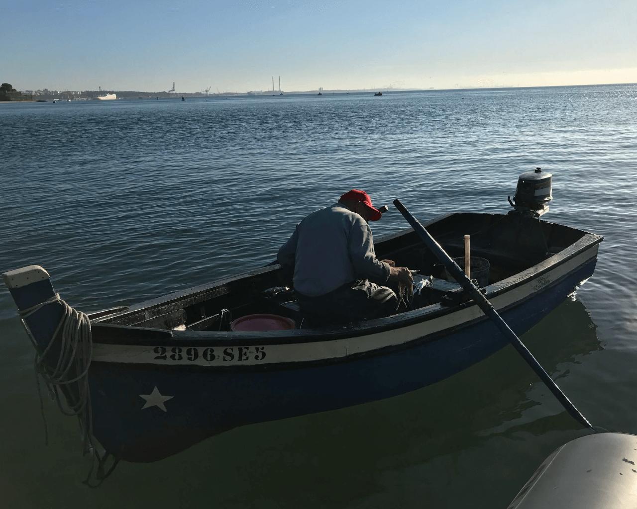 Arte de pesca tradicional