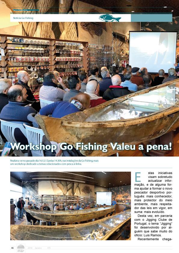 Workshop Go Fishing valeu a pena!
