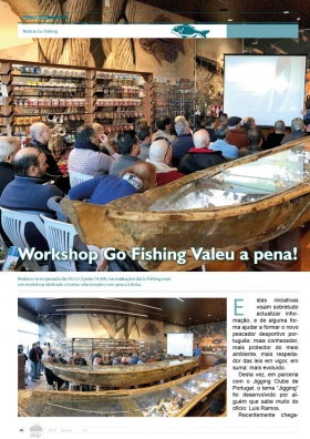 Workshop Go Fishing valeu a pena!