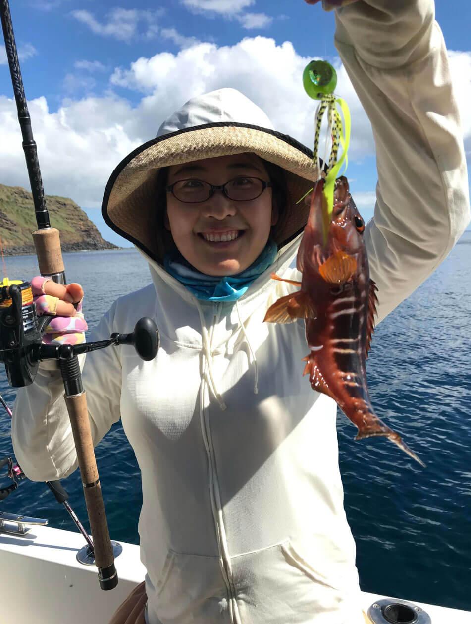 À bord de GO Fishing I