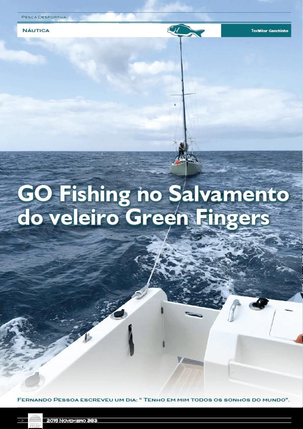 Artigo Go Fishingno Salvamento do veleiro Green Fingers