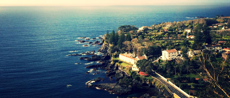 Vista de Pisão, Ilha de São Miguel
