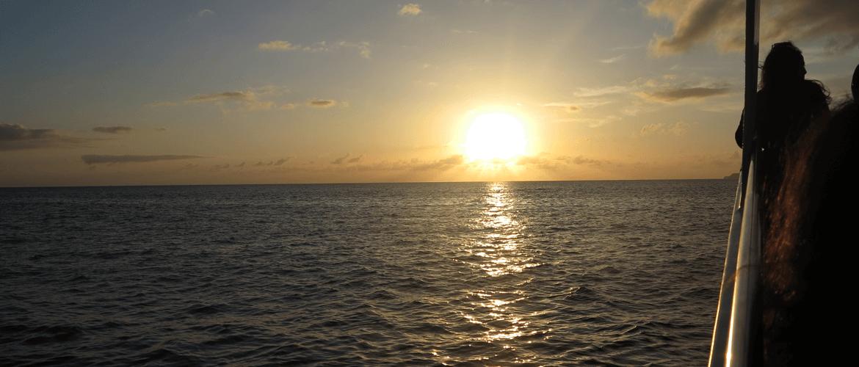 Pôr do sol, Açores