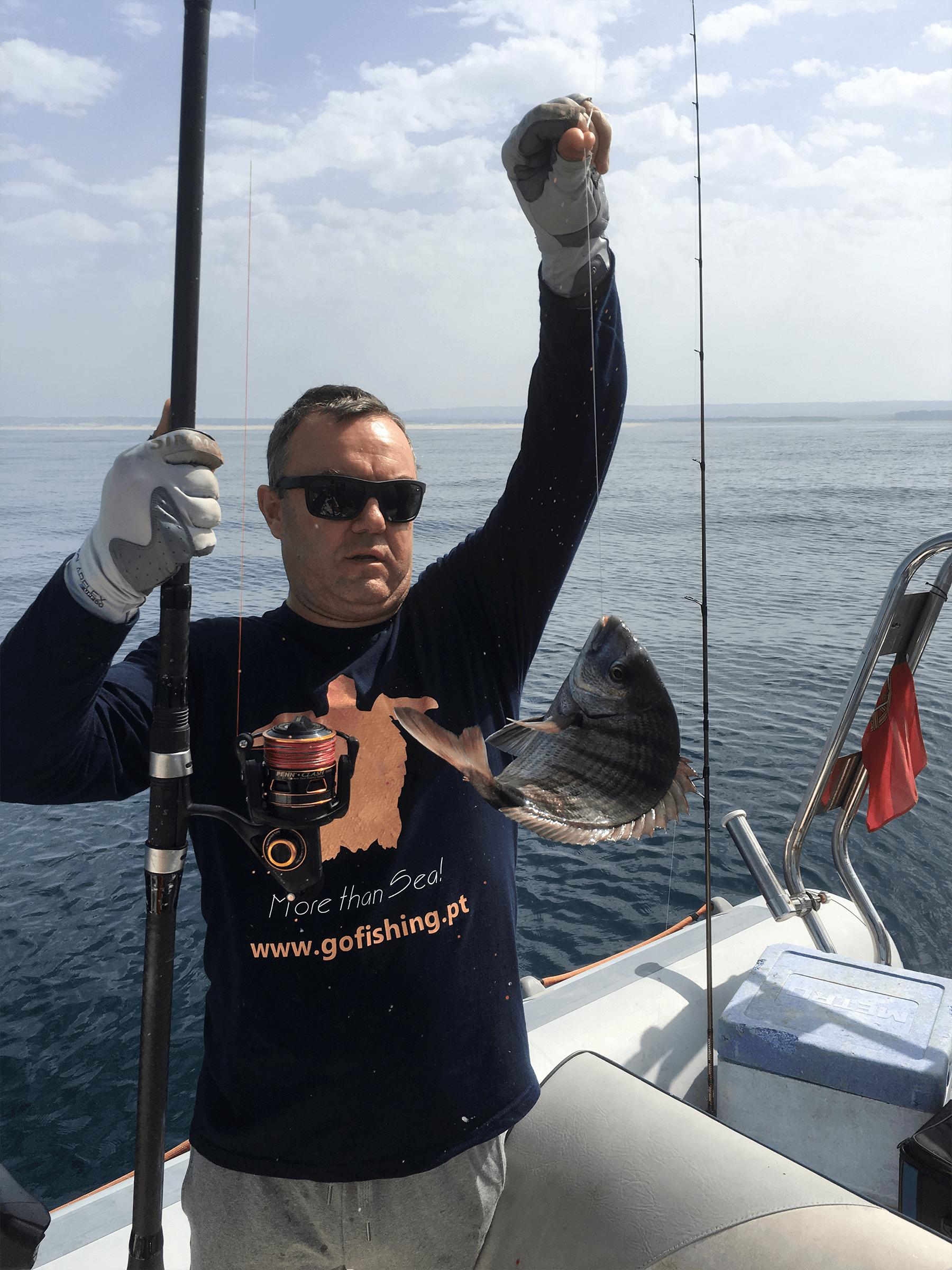 Saídas de pesca - Sesimbra - Costa Azul
