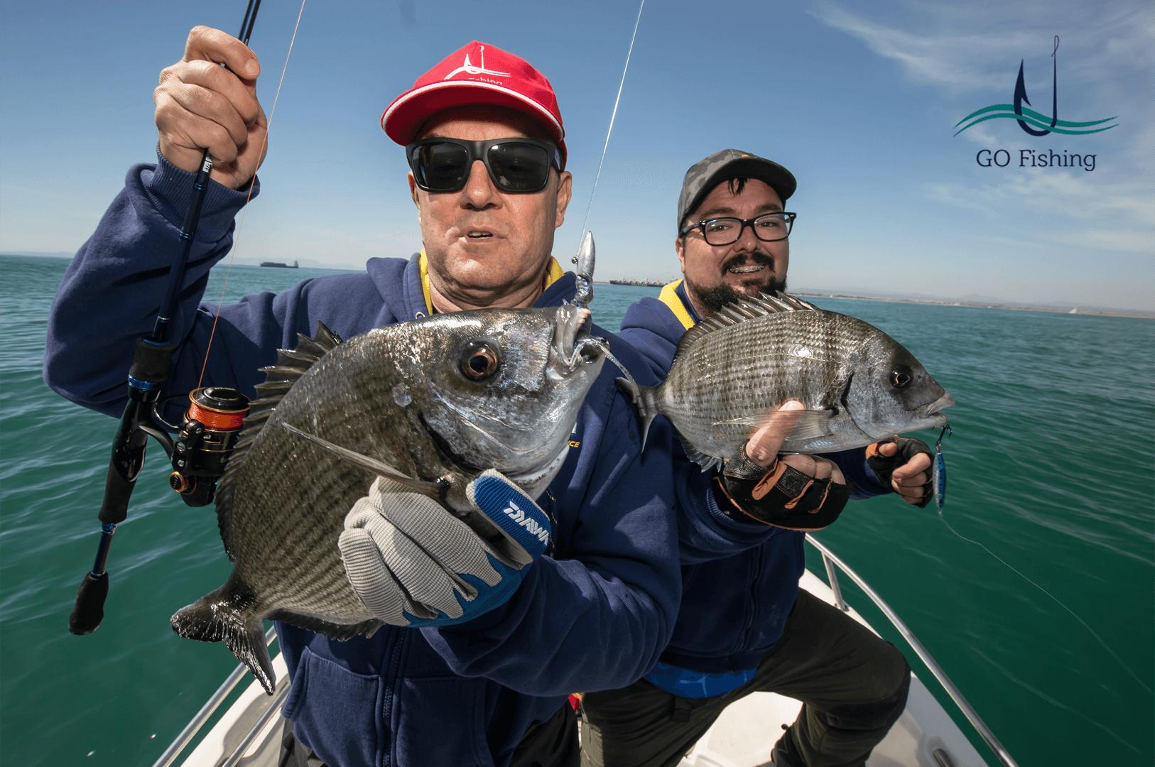 Pesca em Valência com Antonio Pradillo e Raul Garcia