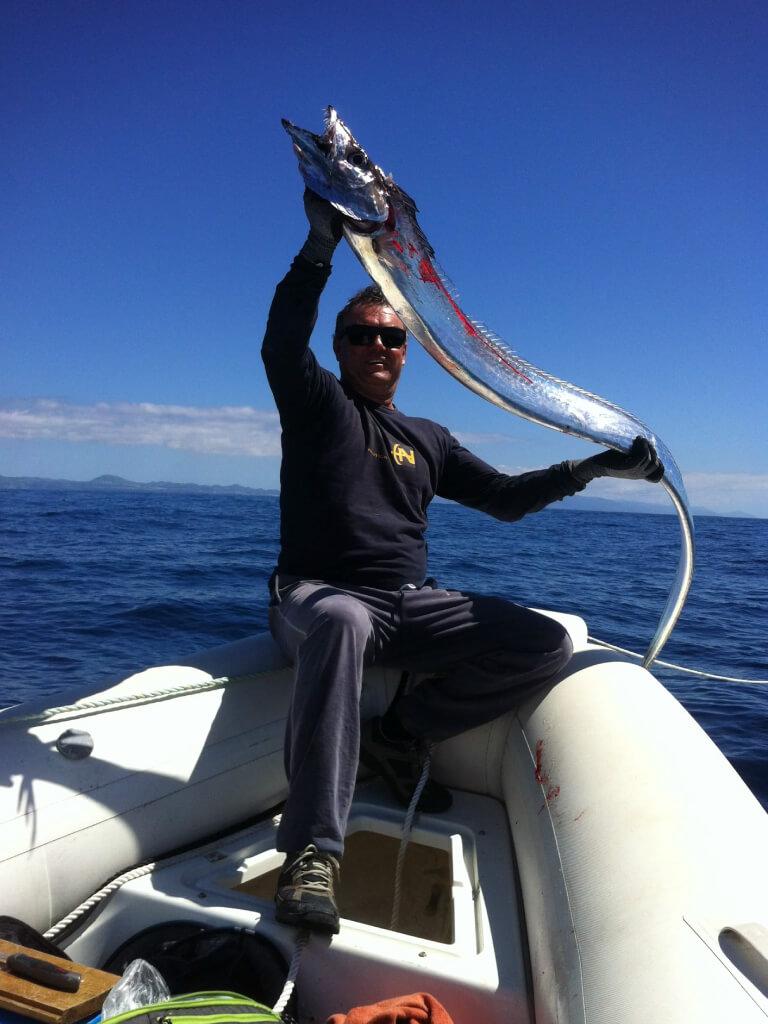 um excelente dia na companhia da Go Fishing
