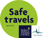 WTTC SafeTravels Stamp GO Fishing